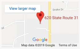 Location of Northern Illinois Recovery Center