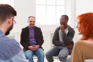 group therapy session at Drug Treatment in IL